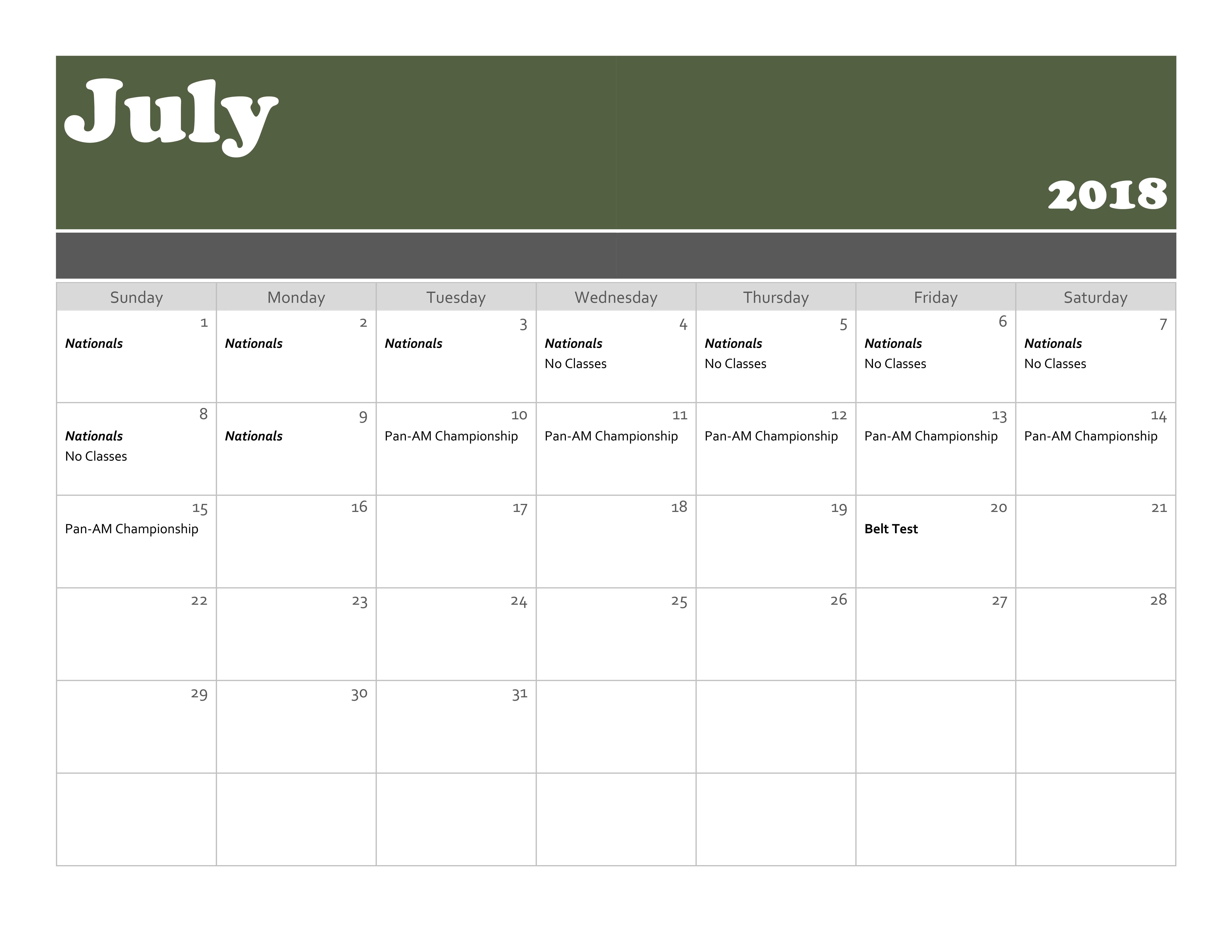 KIMA Calendar_2018